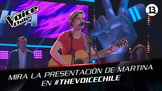 The Voice Chile | Martina Petric - Angie