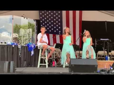 Hallelujah Cover by Liliana, Grant and Eva of One Voice Children's Choir