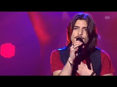 Davide De Vita - It's My Life - Blind Audition - The Voice Of Switzerland 2014 video