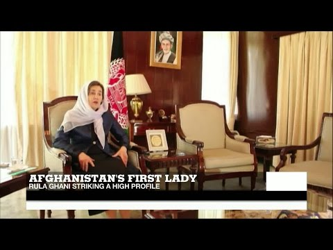 Afghanistan's first lady