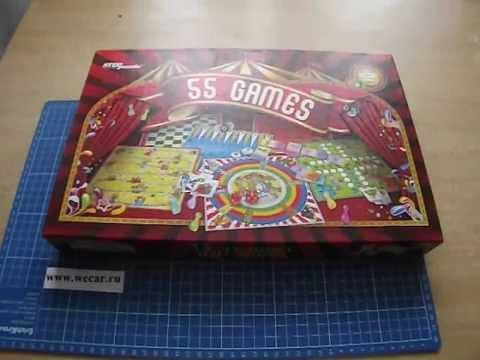 Распаковка настольных игр - Step Puzzle 55 лучших игр мира