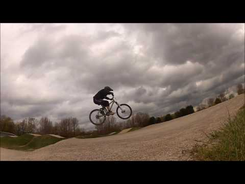 BLACKPOOL BMX TRACK JUMPS