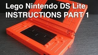 Lego NDS Lite Tutorial part 1