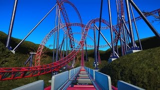 Planet Coaster - Magma [60fps OnRide]