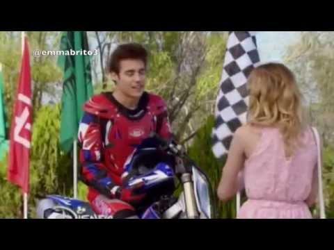 León tiene un accidente en la pista de motocross (03x05-06)