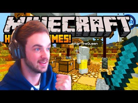 Minecraft HUNGER GAMES -