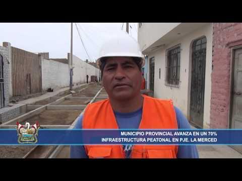 NP   767 Avanza obra Vía Peatonal Pasaje Nuestra Señora de la Merced