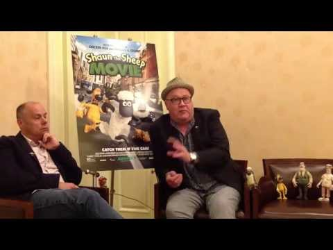 "Mark Burton & Richard ""Golly"" Starzak (Shaun the Sheep Movie) Interview"