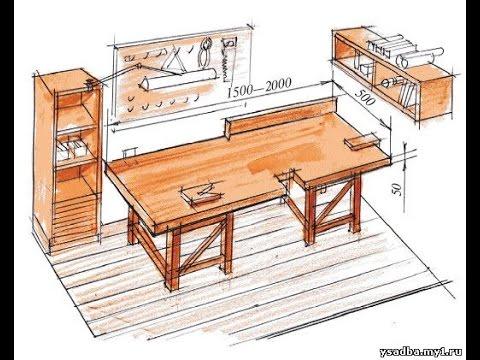 Сделать верстак плотника своими руками 19