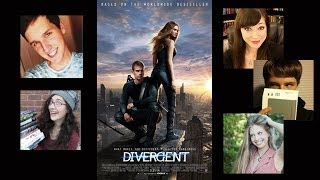 *SPOILERS* DIVERGENT MOVIE LIVESHOW DISCUSSION!
