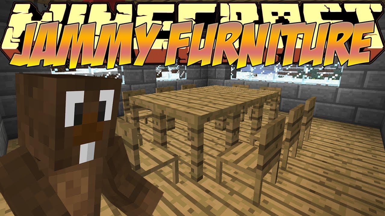 Minecraft Mods Showcase Jammy Furniture Mod 18 1710 182 YouTube