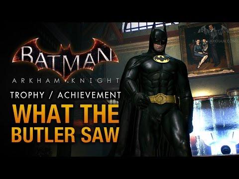 Batman: Arkham Knight - Wayne Manor [What the Butler Saw Trophy \ Achievement]