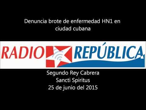 Informa que brota enfermedad de HN1 en Sancti Spiritus