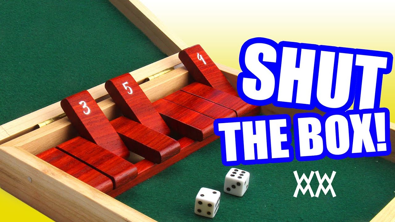 Make a wood Shut-the-Box game. - YouTube