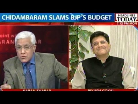 To The Point: Piyush Goyal Exclusive On Budget 2015