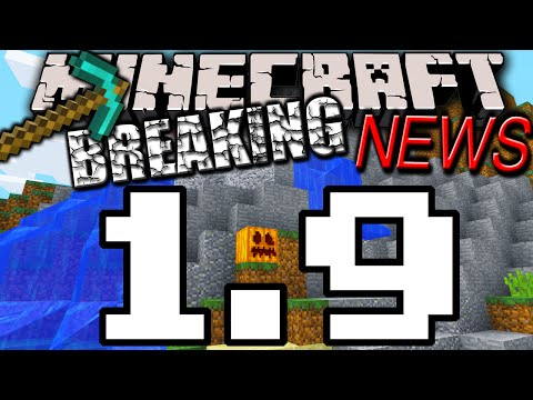 Minecraft 1.9 News: Update Underway! 1.8.1 Snapshot Coming. Mod API. Mystery Features. Bug Fixes