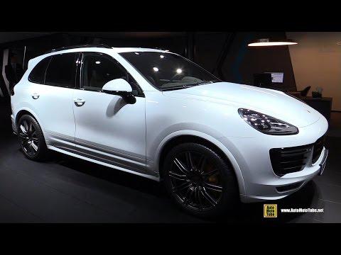 2016 Porsche Cayenne Turbo S - Exterior and Interior Walkaround - 2015 Frankfurt Motor Show