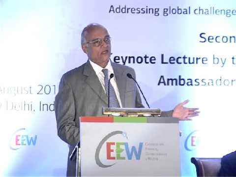 Lecture by National Security Adviser, Ambassador Shivshankar Menon