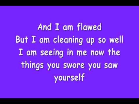 Dashboard Confessional - Vindicated (with Lyrics) video