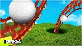 BIGGEST GOLF ROLLERCOASTERS! (Golf It)