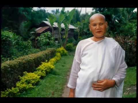 Nun in Laos