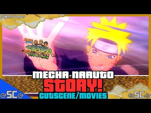 ●naruto Revolution | Mecha Naruto's Story - All Cutscene movies (w  English Subs)【1080p Hd】● video