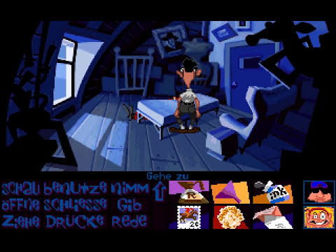 Let's Retro Day of the Tentacle #014 [Deutsch] [HD] - Der Menschenwettbewerb