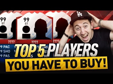FIFA 17 - TOP 5 CHEAP FUT BIRTHDAY BEASTS YOU NEED TO BUY!