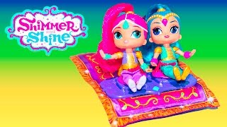 SHIMMER AND SHINE Nickelodeon Shimmer and Shine Toys a Shimmer and Shine Video Toys Review