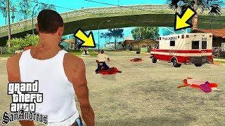 Куда уезжает скорая помощь в GTA San Andreas?