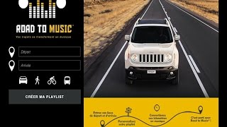 Musique pub Jeep Renegade - Opération inédite Road to Music avec Spotify