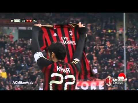 AC Milan 3-0 Atalanta | Kaka 1-0 Milan Channel Comm.