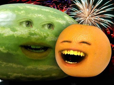 Annoying Orange - Orange of July