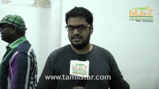 Gautham At Peechaankai Short Film Screening