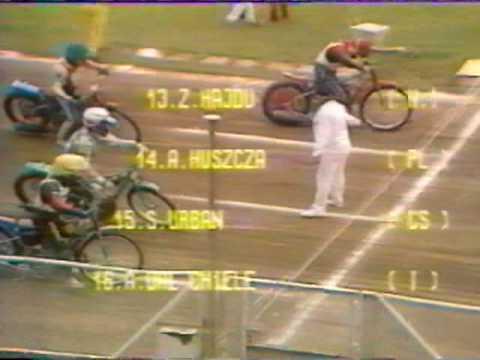 1989 Polfinal Kontynentalny Rybnik Zuzel Cz 1