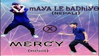 Maya le badhyo x Mercy||Badsah||Nepali & Hindi Dance||Basic Dance||Krishna Tamang Official