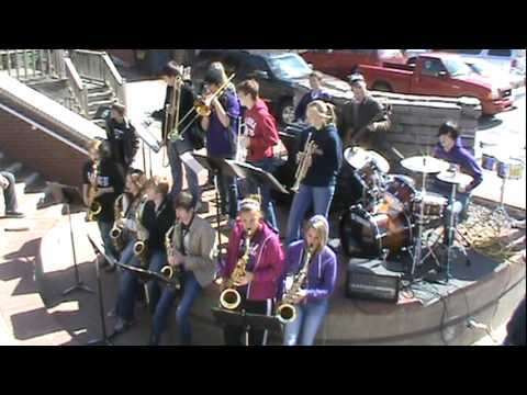 Bristow High School Jazz Band - The Sponge