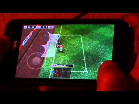 Pro Evolution Soccer 2012 for Android on Samsung Galaxy S i9000 High Definion 720p
