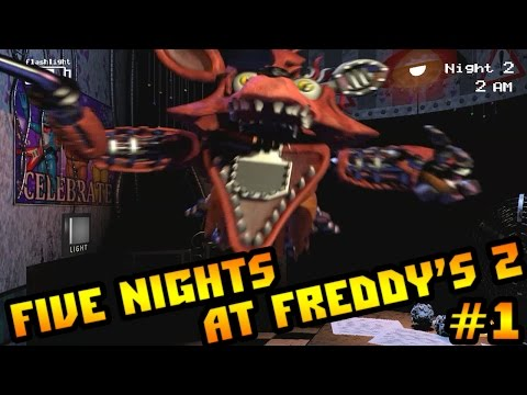 Прохождение five nights at freddy s 2 страшно