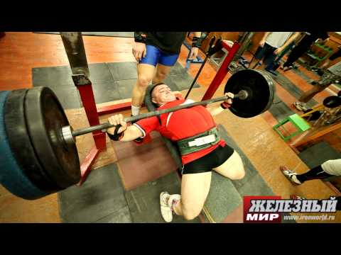 Russian IPF Powerlifting Team. 1 week before World Championships-2012. Image 1
