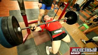Russian IPF Powerlifting Team. 1 week before World Championships-2012.