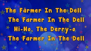 Karaoke - The Farmer in the Dell Rhyme | Karaoke Rhymes