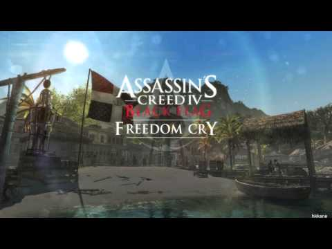 Assassin's Creed 4 Black Flag Freedom Cry DLC Ending Credits Music