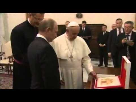 Pope Francis Meets Russian President Putin