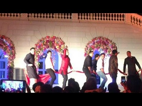 Salman Khan's Towel Dance Performance At Arpita Khan's Wedding