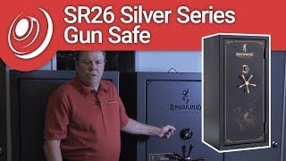 Browning SR26 Silver Series Gun Safe with Dye the Safe Guy