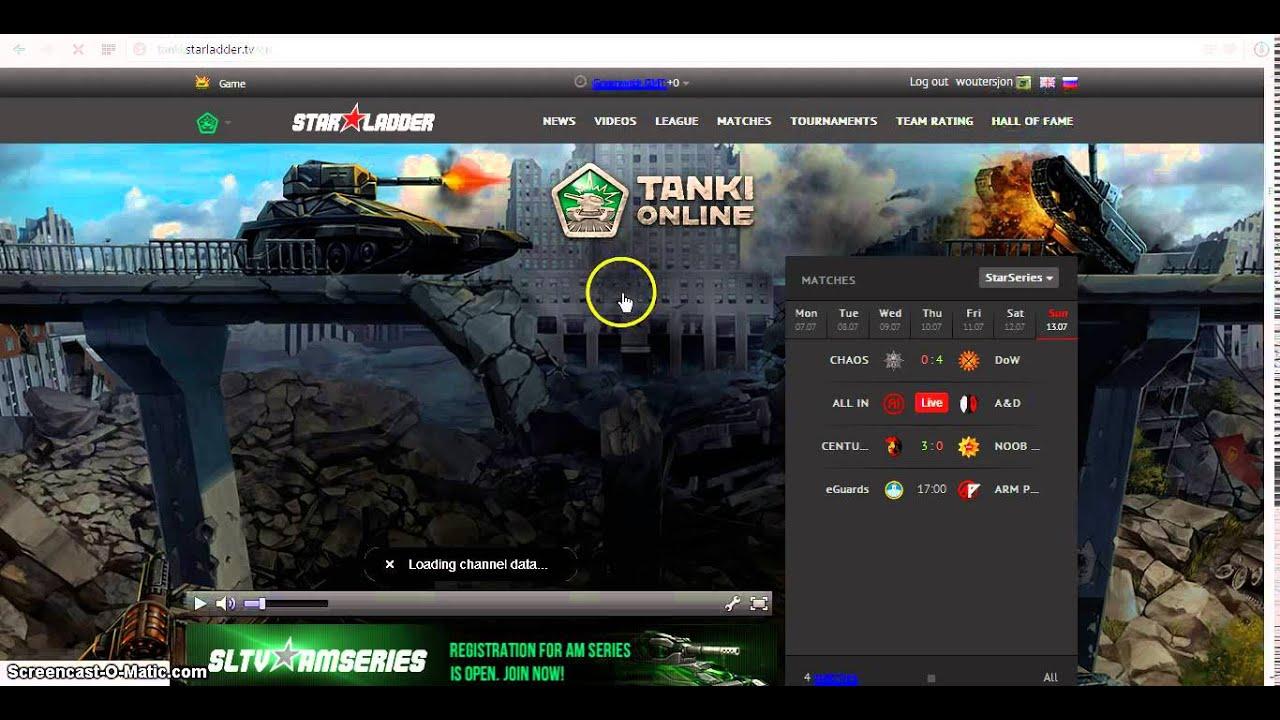 Tanki Online StarLadder TV | VK