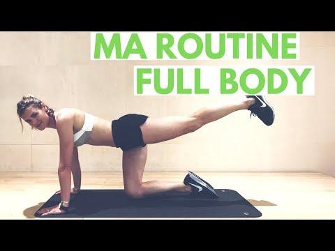 ROUTINE FULL BODY (30 min) - sans matériel - by Lucile Woodward