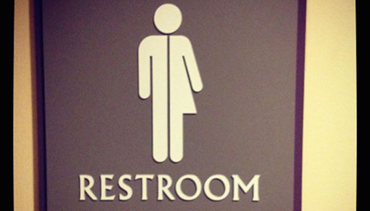 Kilt Bathroom Sign bathroom sign theology | stuff fundies like