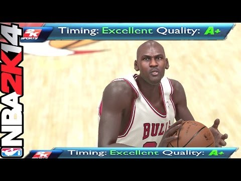 Nba 2k14 Next Gen  How To Get Perfect Release  Shooting Guide  Hall Of Fame  Xbox One